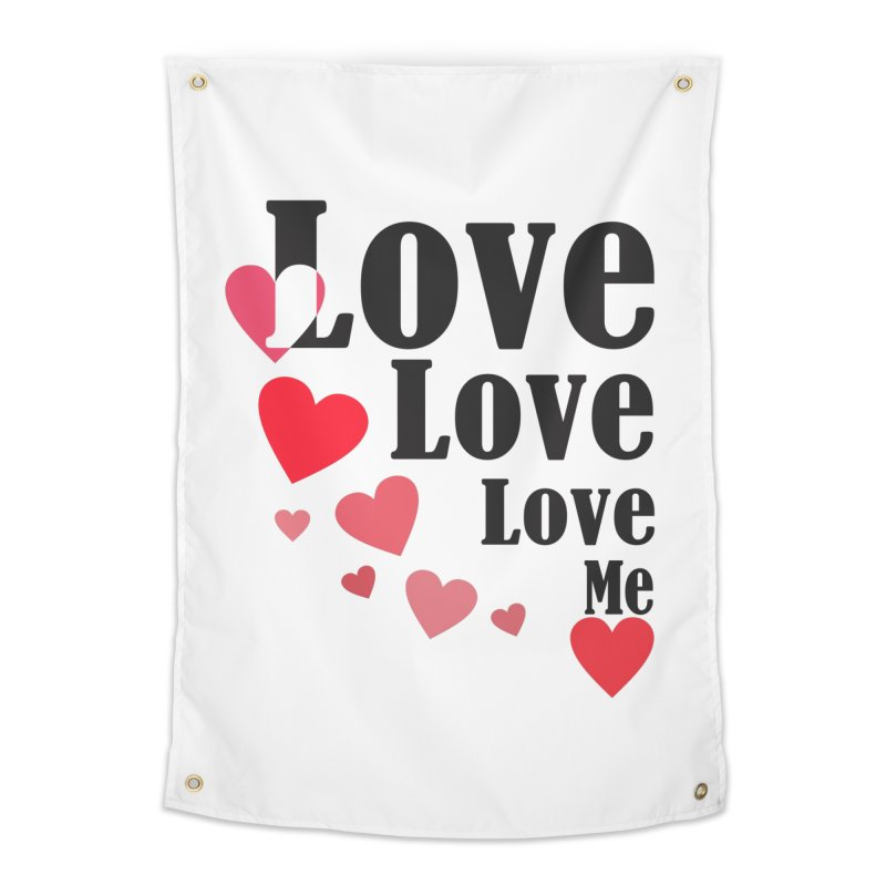 Love... me Home Tapestry by TerrificPain's Artist Shop by SaulTP