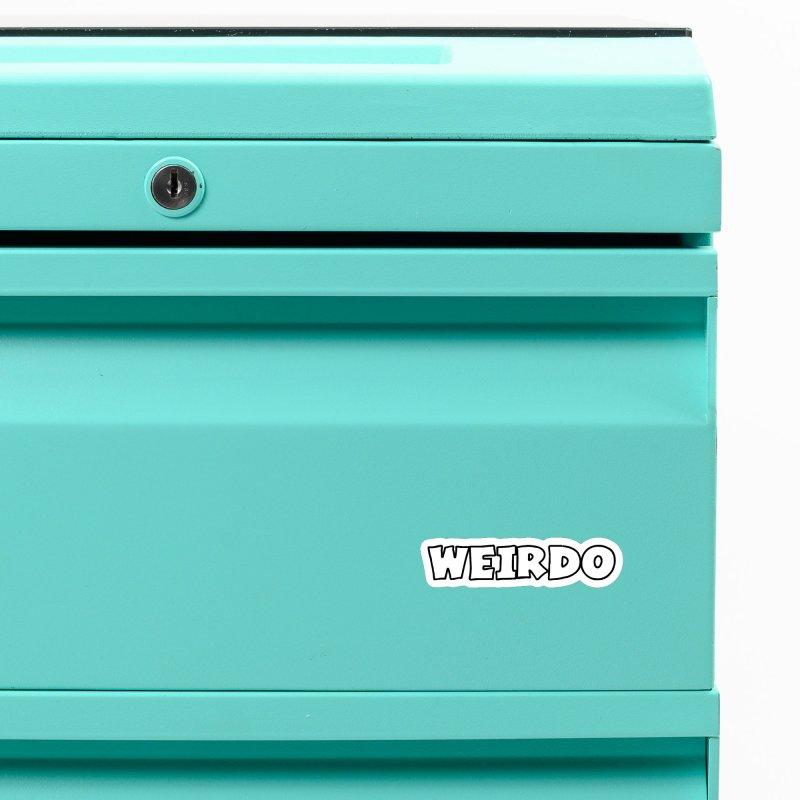 WEIRDO! Accessories Magnet by TerrificPain's Artist Shop by SaulTP