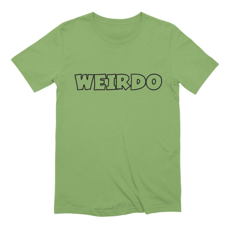 WEIRDO! Men's Extra Soft T-Shirt by TerrificPain's Artist Shop by SaulTP