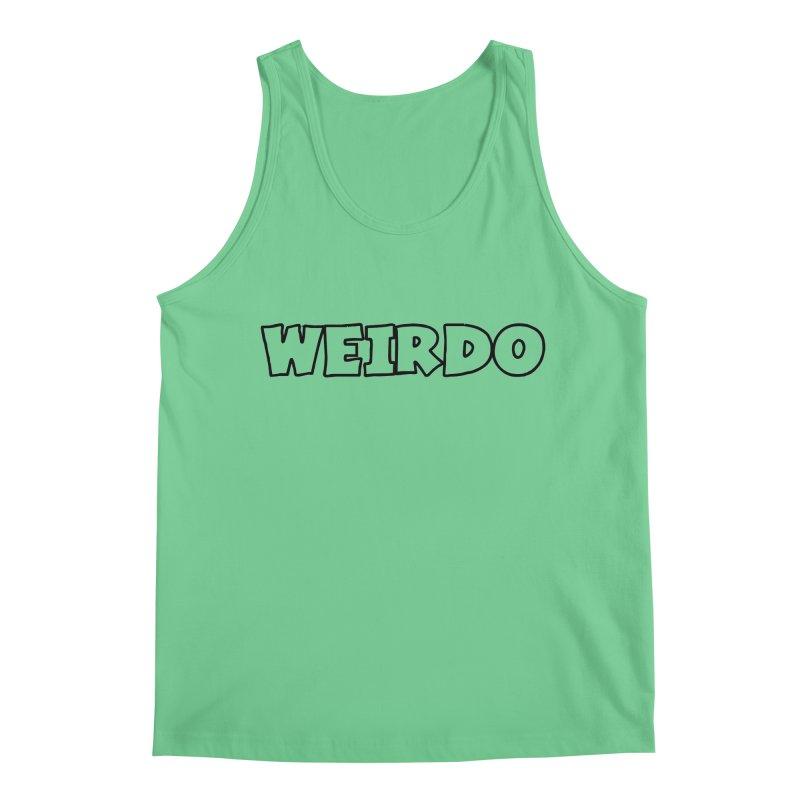WEIRDO! Men's Regular Tank by TerrificPain's Artist Shop by SaulTP