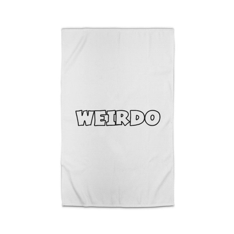 WEIRDO! Home Rug by TerrificPain's Artist Shop by SaulTP