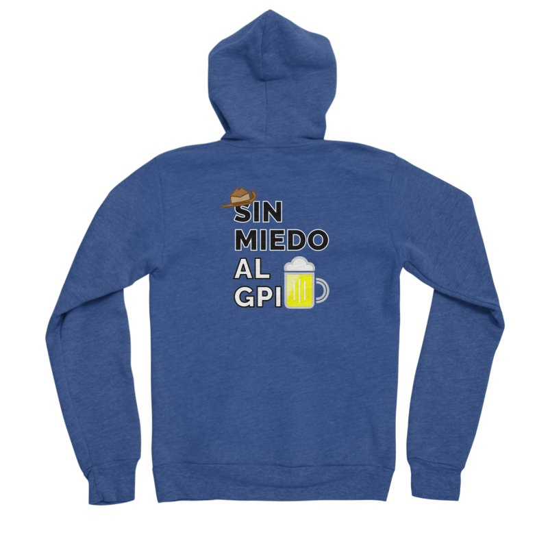 GPI Men's Sponge Fleece Zip-Up Hoody by TerrificPain's Artist Shop by SaulTP