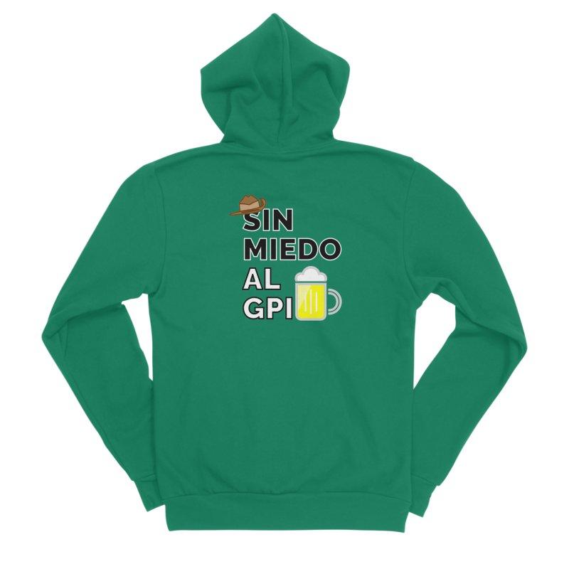 GPI Men's Sponge Fleece Zip-Up Hoody by TerrificPain's Artist Shop by SaulTP
