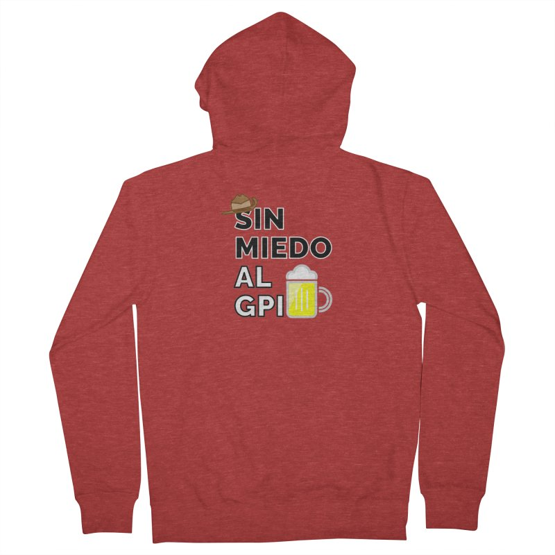 GPI Women's French Terry Zip-Up Hoody by TerrificPain's Artist Shop by SaulTP