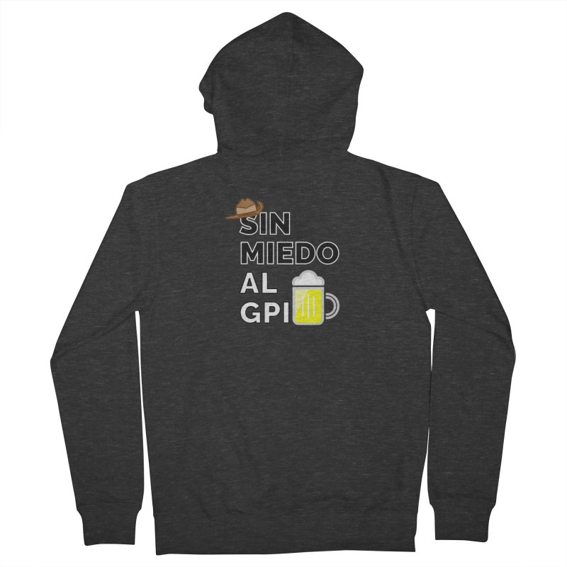 GPI Men's French Terry Zip-Up Hoody by TerrificPain's Artist Shop by SaulTP