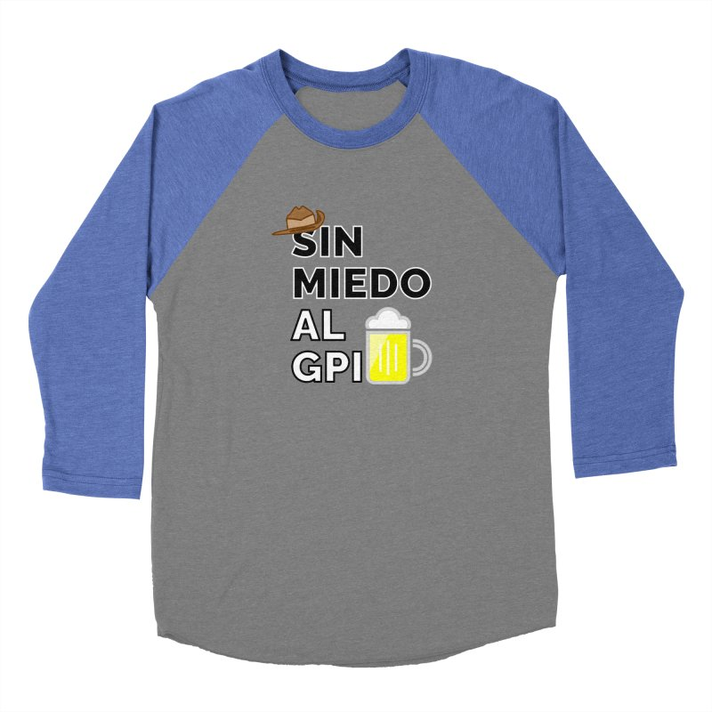 GPI Men's Baseball Triblend Longsleeve T-Shirt by TerrificPain's Artist Shop by SaulTP