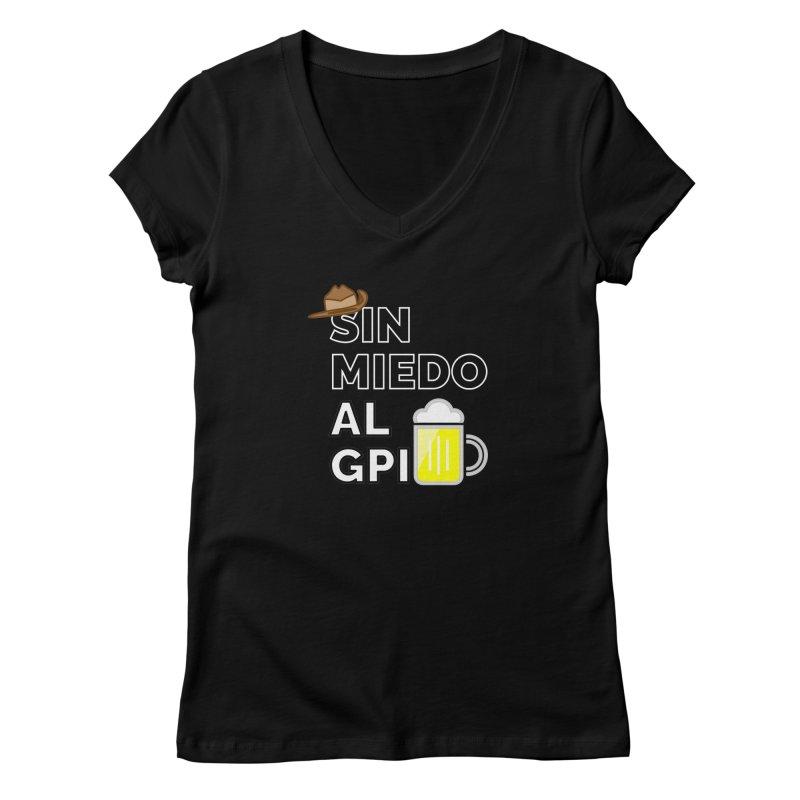 GPI Women's V-Neck by TerrificPain's Artist Shop by SaulTP
