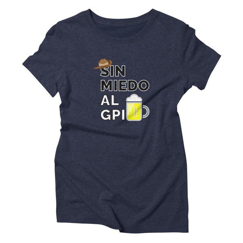 GPI Women's Triblend T-Shirt by TerrificPain's Artist Shop by SaulTP