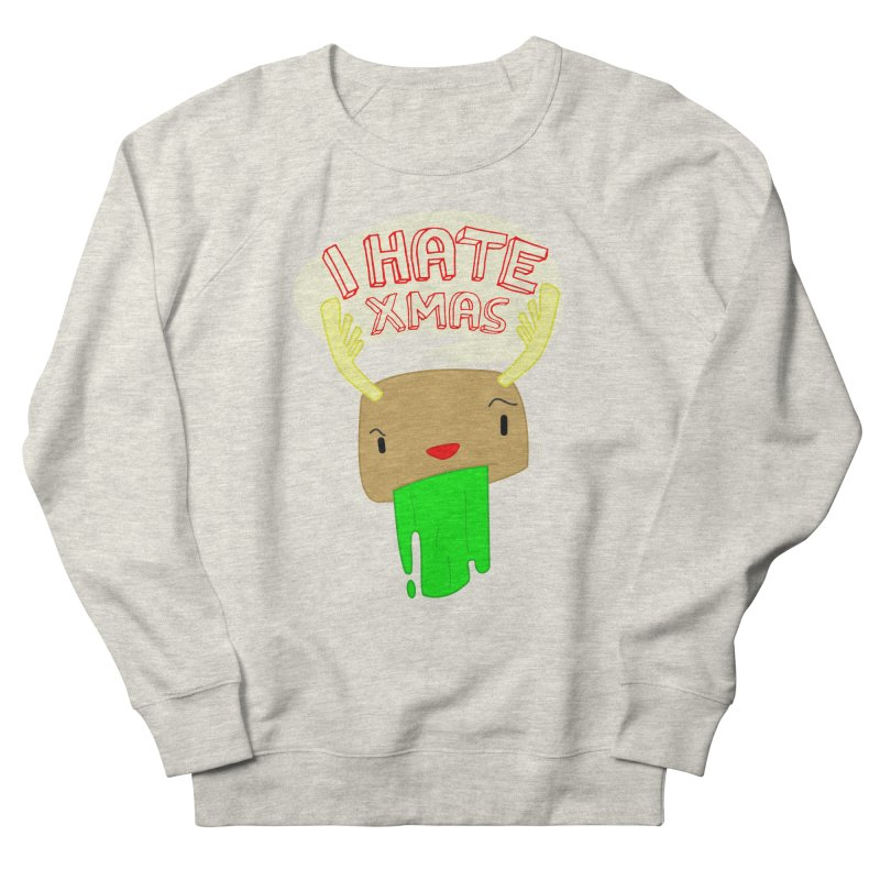 Hate it! Men's French Terry Sweatshirt by TerrificPain's Artist Shop by SaulTP