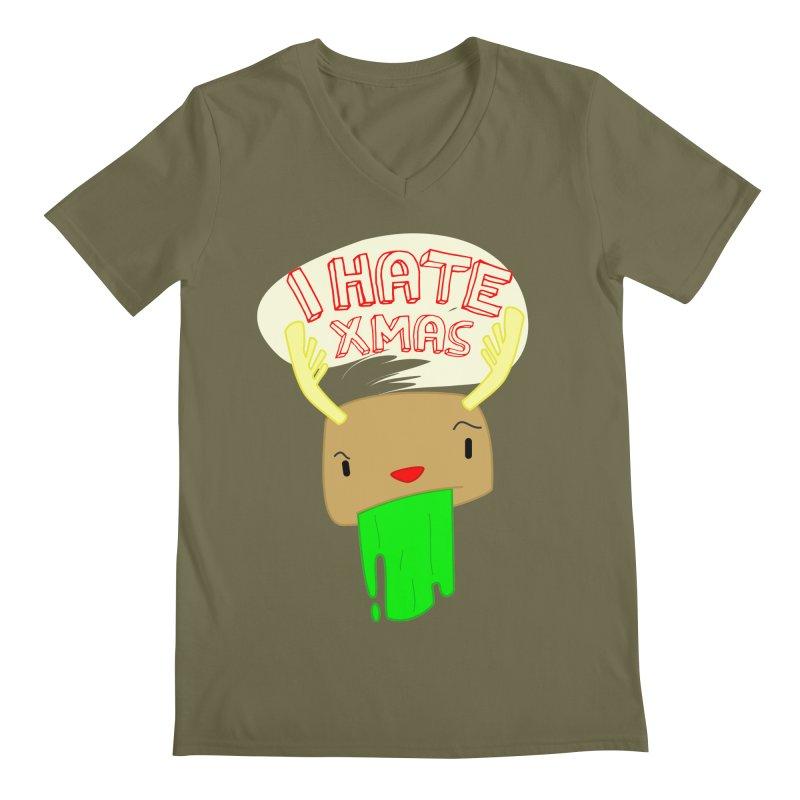 Hate it! Men's Regular V-Neck by TerrificPain's Artist Shop by SaulTP