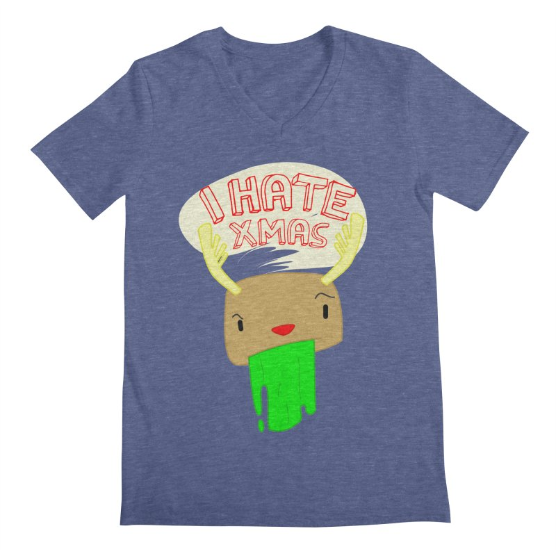 Hate it! Men's Regular V-Neck by TerrificPain's Artist Shop by SaulTP