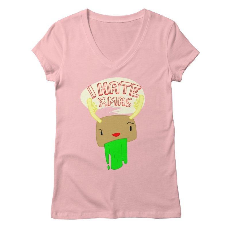 Hate it! Women's Regular V-Neck by TerrificPain's Artist Shop by SaulTP