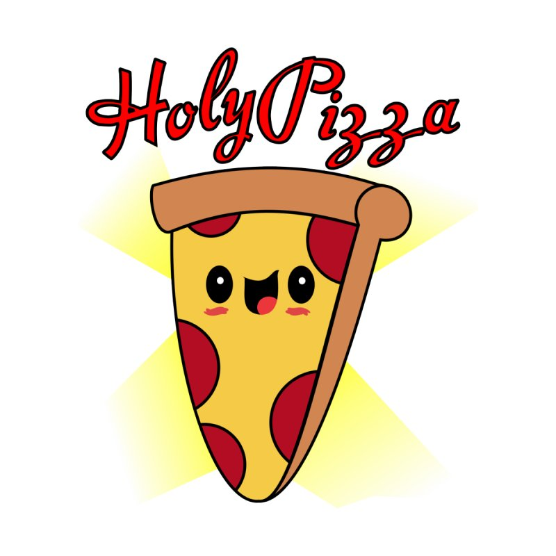 Holy Pizza Men's T-Shirt by TerrificPain's Artist Shop by SaulTP