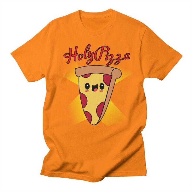 Holy Pizza Men's T-shirt by TerrificPain's Artist Shop