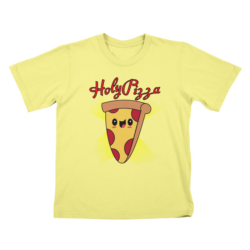 Holy Pizza Kids T-shirt by TerrificPain's Artist Shop