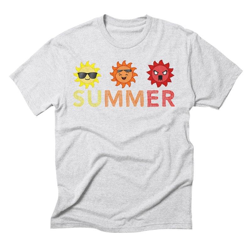 Summer time Men's Triblend T-shirt by TerrificPain's Artist Shop