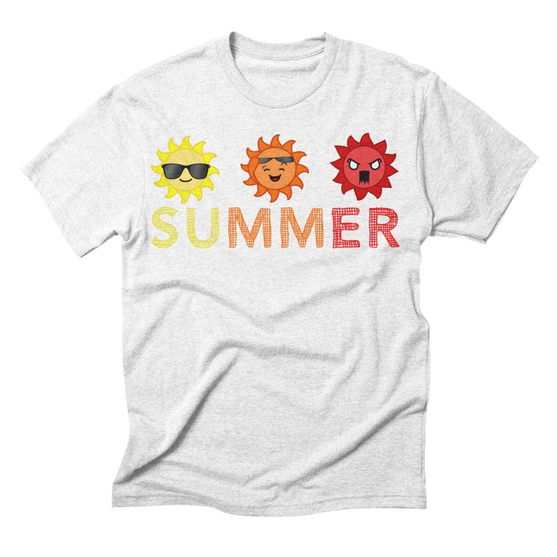 Summer time Men's Triblend T-shirt by TerrificPain's Artist Shop