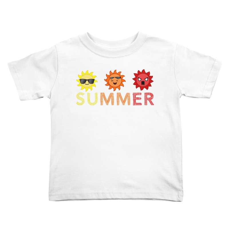 Summer time Kids Toddler T-Shirt by TerrificPain's Artist Shop