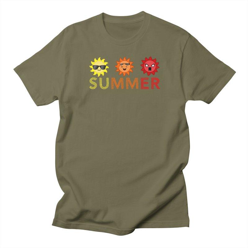 Summer time Men's Regular T-Shirt by TerrificPain's Artist Shop
