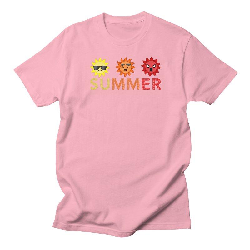 Summer time Women's Regular Unisex T-Shirt by TerrificPain's Artist Shop
