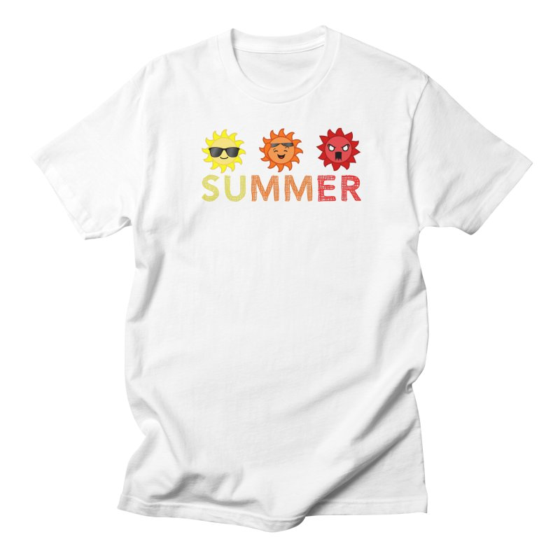 Summer time Men's Regular T-Shirt by TerrificPain's Artist Shop by SaulTP