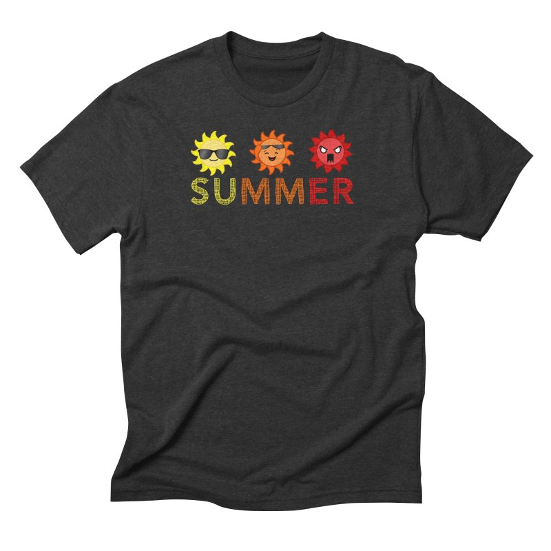 Summer time Men's Triblend T-Shirt by TerrificPain's Artist Shop by SaulTP
