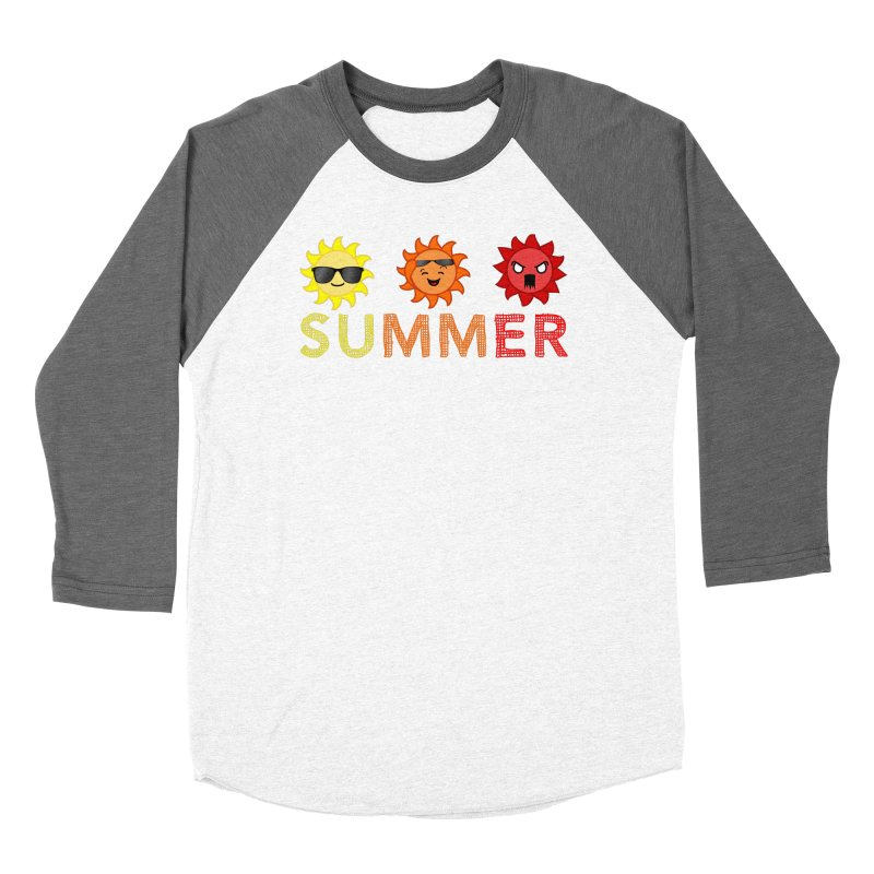 Summer time Women's Baseball Triblend Longsleeve T-Shirt by TerrificPain's Artist Shop