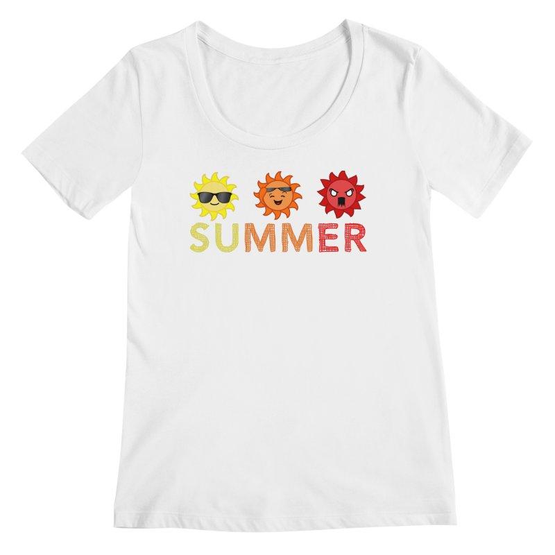 Summer time Women's Regular Scoop Neck by TerrificPain's Artist Shop by SaulTP