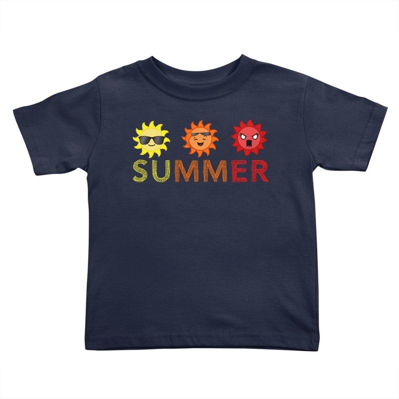 Summer time Kids Toddler T-Shirt by TerrificPain's Artist Shop by SaulTP