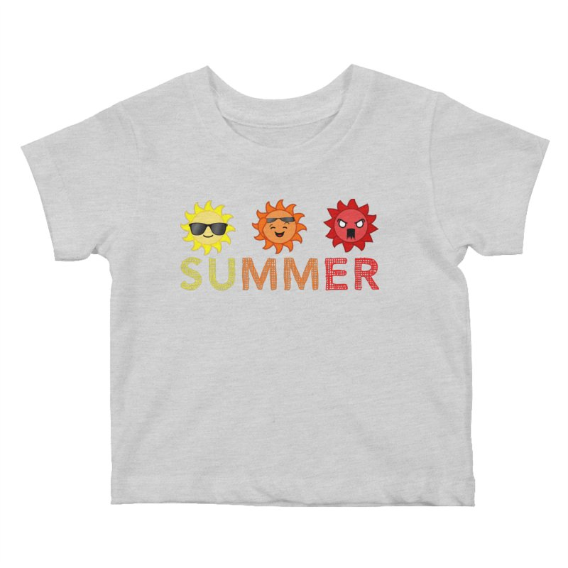 Summer time Kids Baby T-Shirt by TerrificPain's Artist Shop by SaulTP