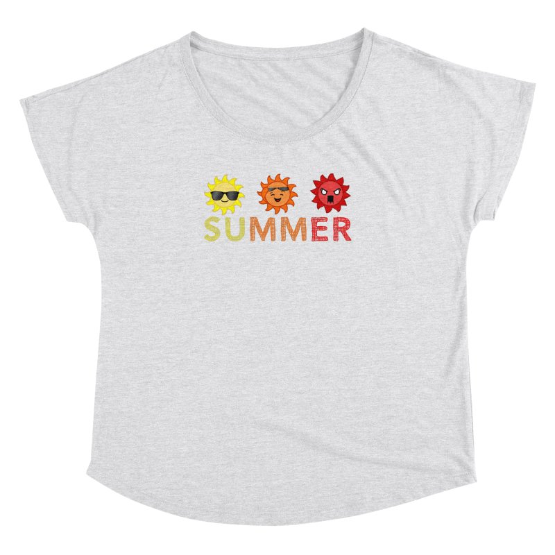 Summer time Women's Dolman Scoop Neck by TerrificPain's Artist Shop
