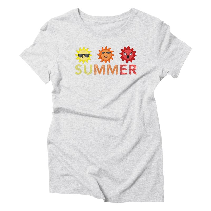 Summer time Women's Triblend T-Shirt by TerrificPain's Artist Shop by SaulTP