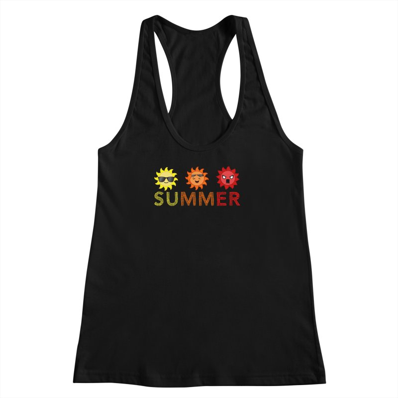 Summer time Women's Racerback Tank by TerrificPain's Artist Shop