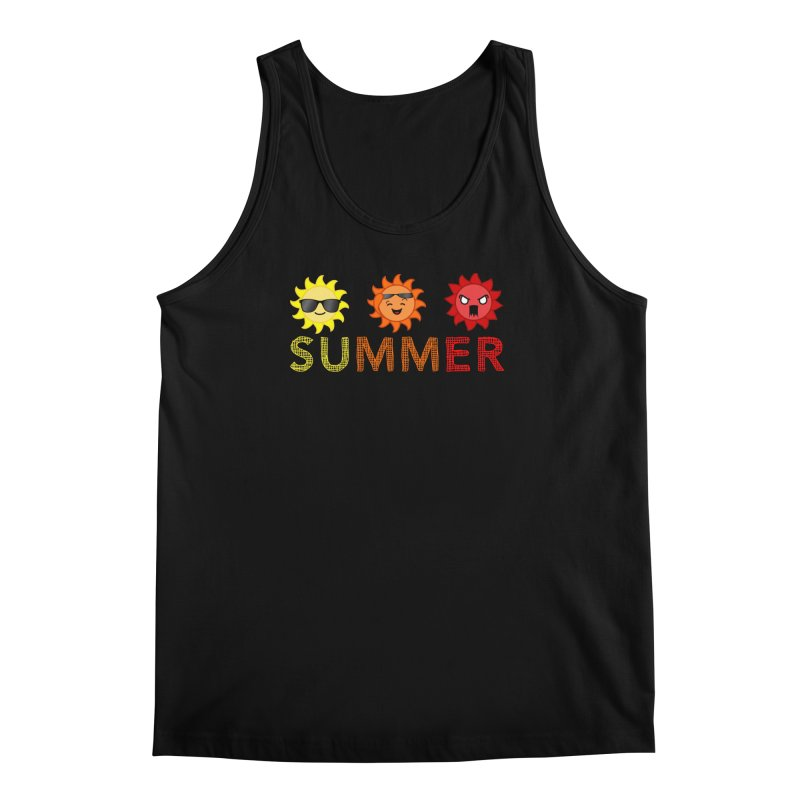 Summer time Men's Regular Tank by TerrificPain's Artist Shop by SaulTP