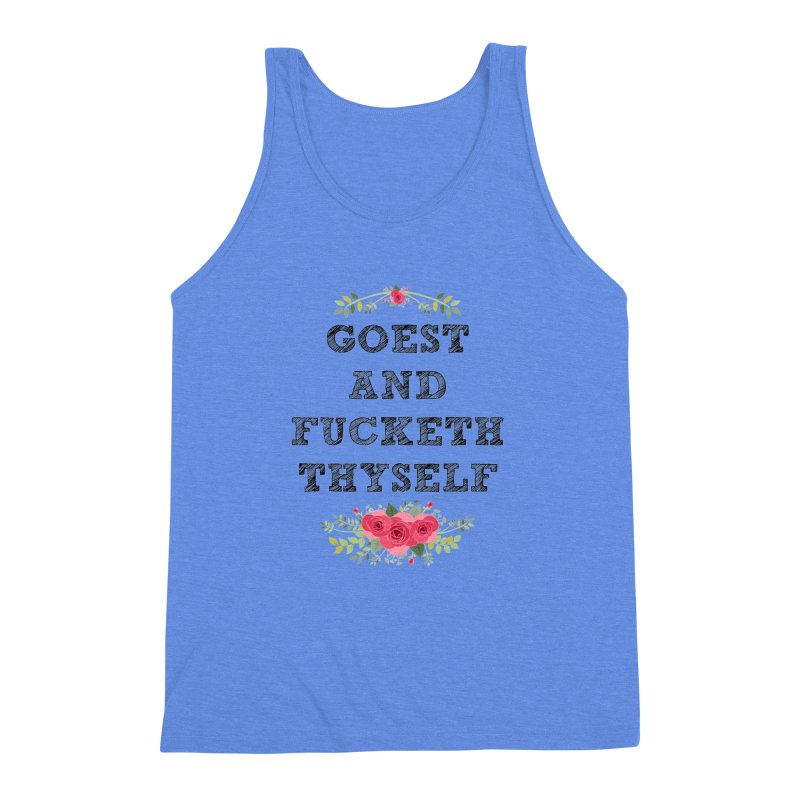 Goest and... Men's Triblend Tank by TerrificPain's Artist Shop by SaulTP