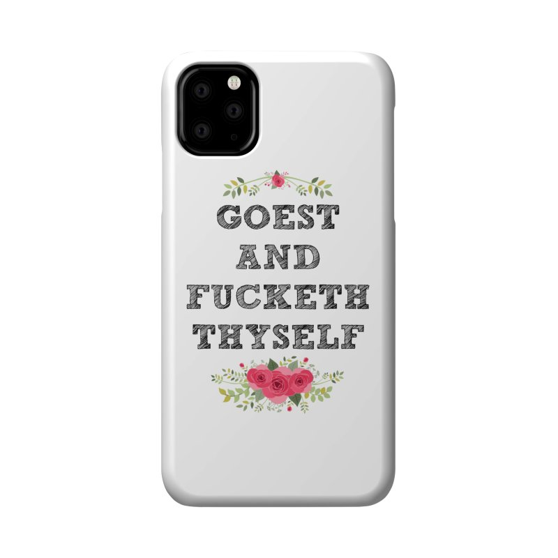 Goest and... Accessories Phone Case by TerrificPain's Artist Shop by SaulTP