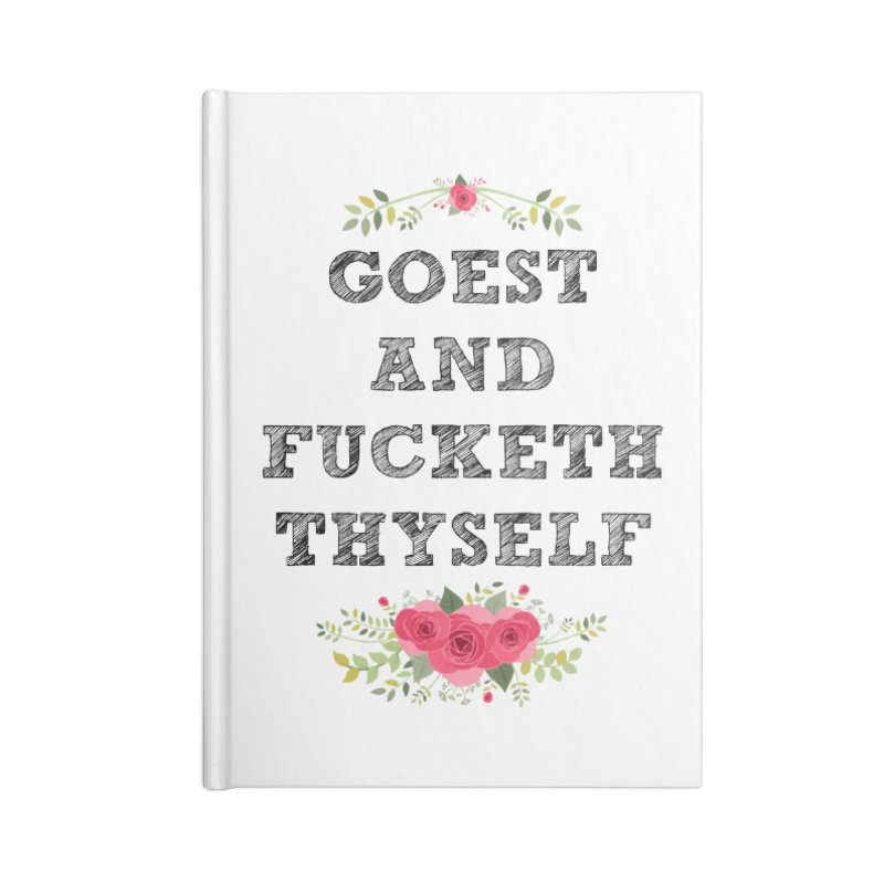 Goest and... Accessories Blank Journal Notebook by TerrificPain's Artist Shop by SaulTP