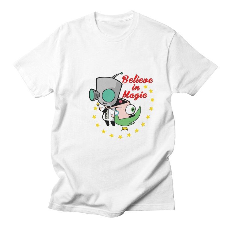I do believe in magic. Men's T-shirt by TerrificPain's Artist Shop