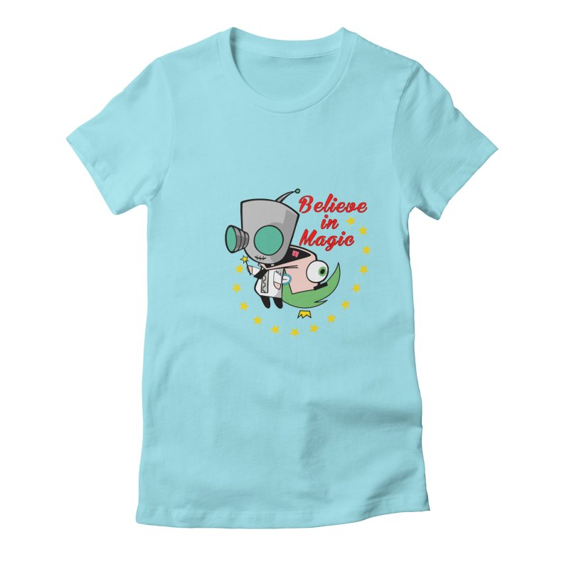 I do believe in magic. Women's Fitted T-Shirt by TerrificPain's Artist Shop