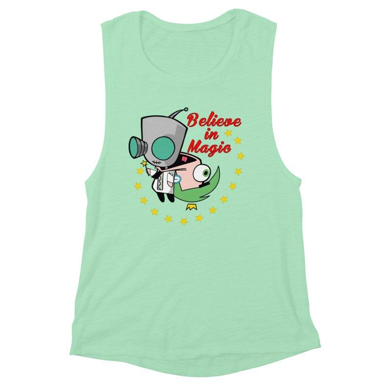 I do believe in magic. Women's Muscle Tank by TerrificPain's Artist Shop by SaulTP