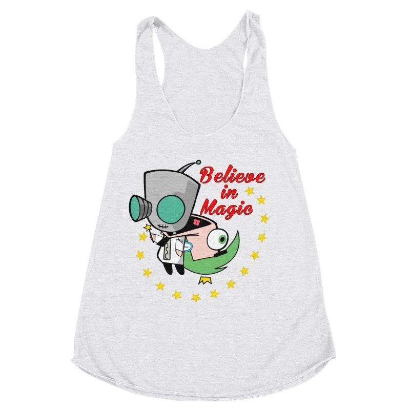 I do believe in magic. Women's Racerback Triblend Tank by TerrificPain's Artist Shop by SaulTP
