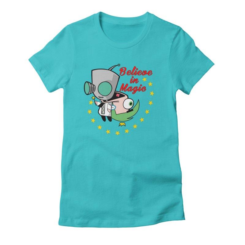 I do believe in magic. Women's T-Shirt by TerrificPain's Artist Shop by SaulTP