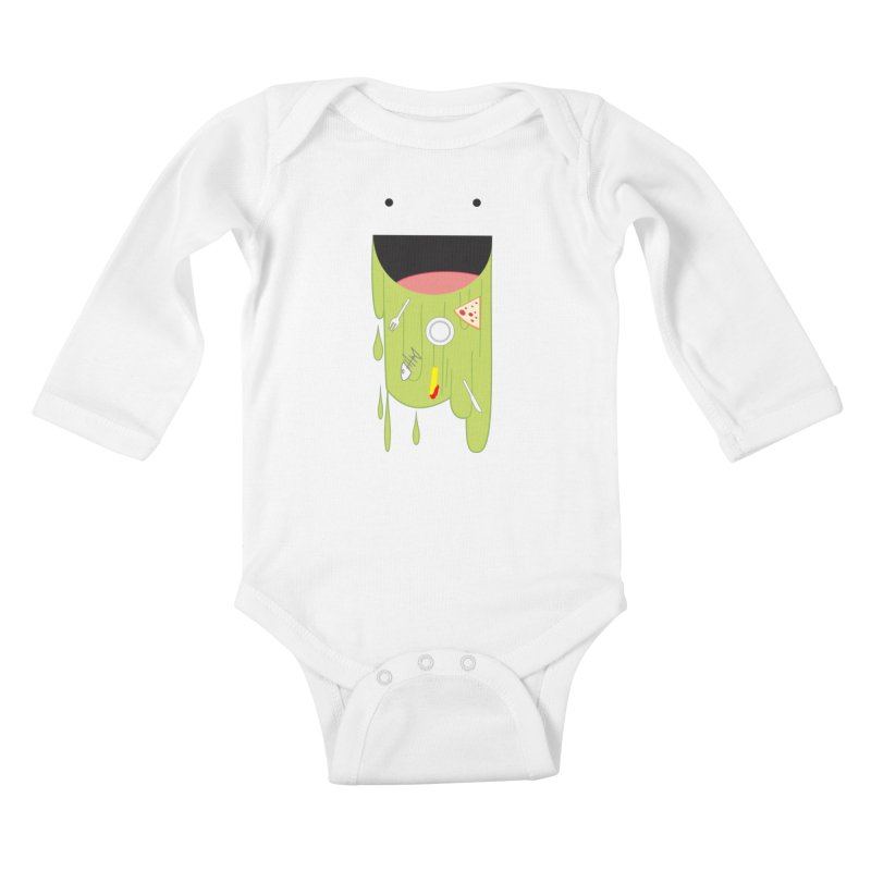 Wack! Kids Baby Longsleeve Bodysuit by TerrificPain's Artist Shop
