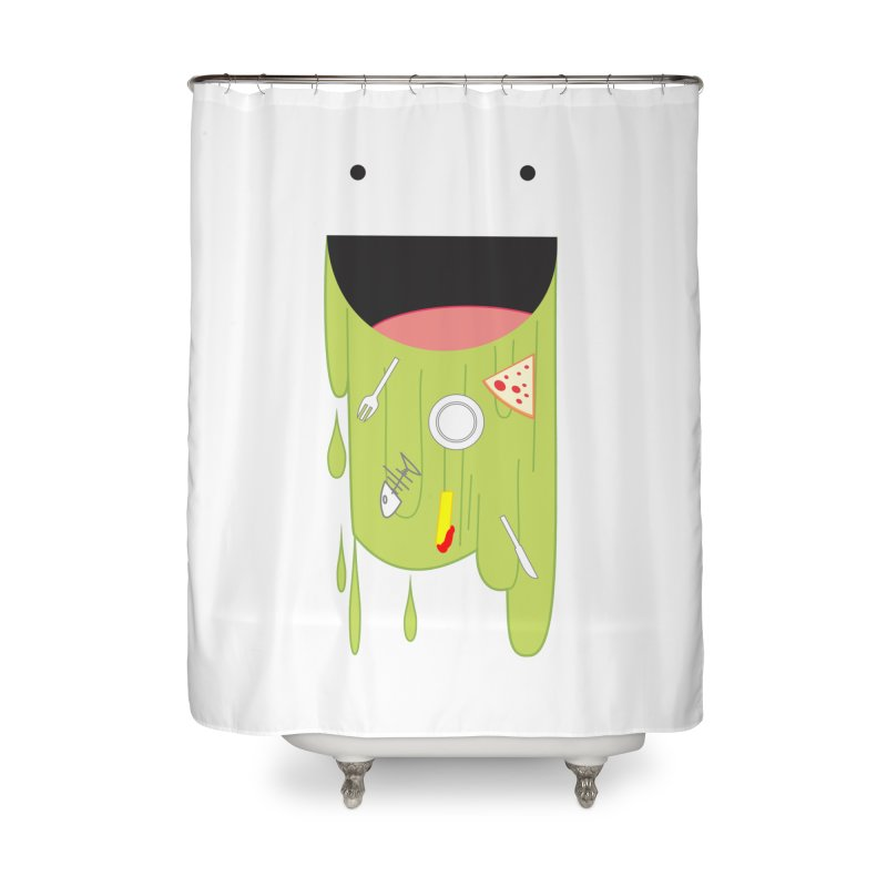 Wack! Home Shower Curtain by TerrificPain's Artist Shop by SaulTP