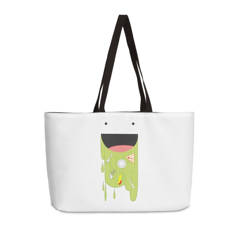 Wack! Accessories Weekender Bag Bag by TerrificPain's Artist Shop by SaulTP