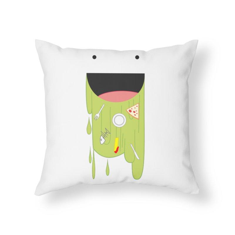 Wack! Home Throw Pillow by TerrificPain's Artist Shop by SaulTP