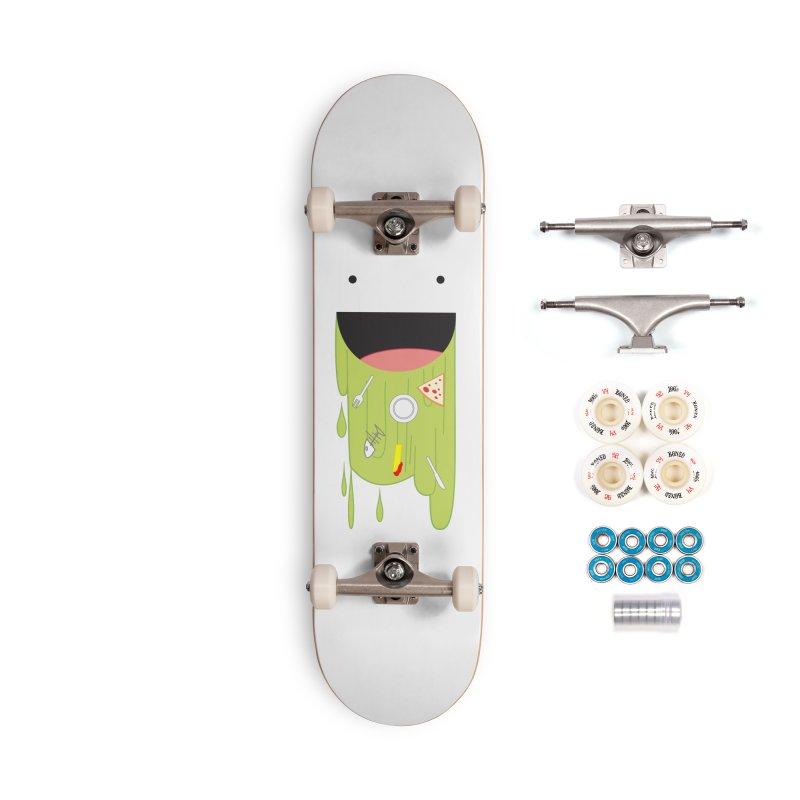 Wack! Accessories Complete - Premium Skateboard by TerrificPain's Artist Shop by SaulTP