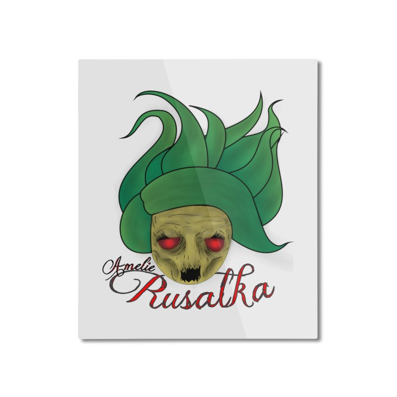 Amelie Rusalka Home Mounted Aluminum Print by TerrificPain's Artist Shop by SaulTP