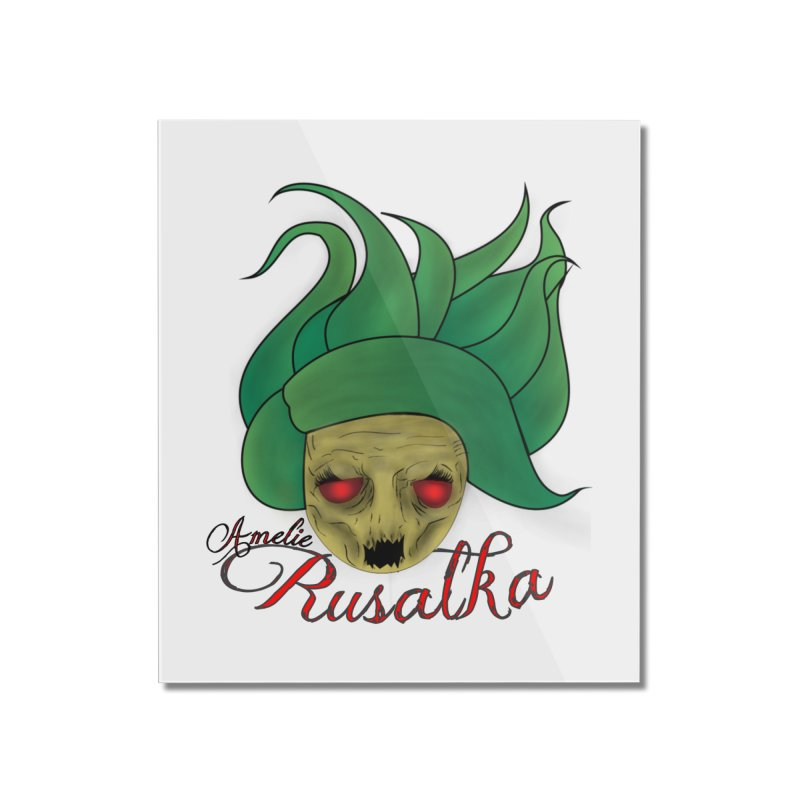 Amelie Rusalka Home Mounted Acrylic Print by TerrificPain's Artist Shop by SaulTP