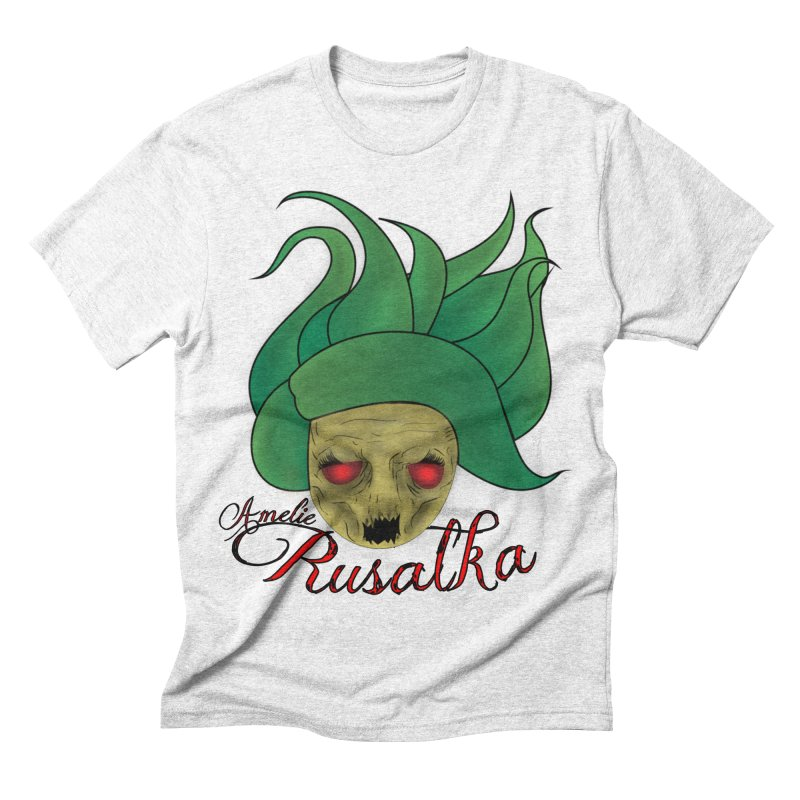 Amelie Rusalka Men's Triblend T-shirt by TerrificPain's Artist Shop